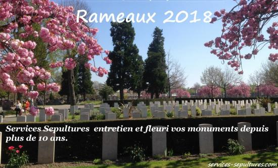 rameaux 2018 fcbk